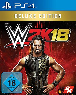 WWE 2K18 - Deluxe Edition       PS4    Playstation 4       !!!!! NEU+OVP !!!!!
