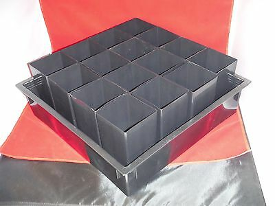 "x1 4"" inch deep 15"" wide flats trays x16 3.5"" pots 6"" tall orchid tree band"