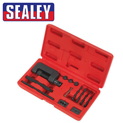 Sealey Cam Chain / Motorcycle Drive Chain Breaker & Riveter In Moulded Case