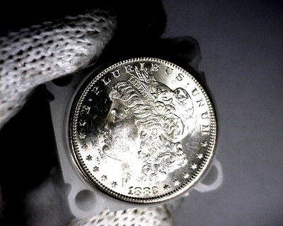 1882-s Blast White Unc Morgan Silver Dollar from a fresh Roll Will Grade Out