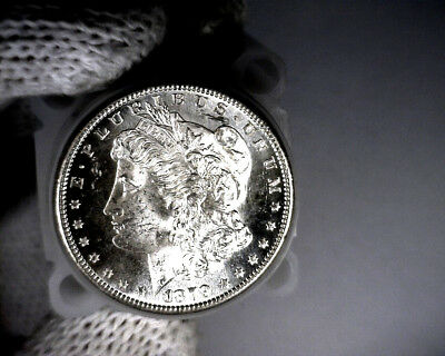 1879-s Blast White Unc Morgan Silver Dollar from a fresh Roll Will Grade Out