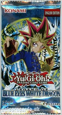 YuGiOh! Legend of Blue Eyes White Dragon New and Sealed YuGiOh Booster Pack