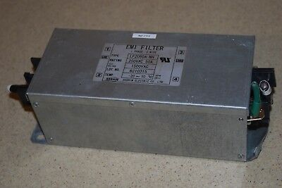 Emi Filter Type Lf2050A-Nh 250Vac 50A 1500Vac 1Phase 1 Wire