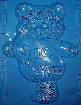 Large Teddy Bear With A Football Chocolate Mould Or Plaster Mould
