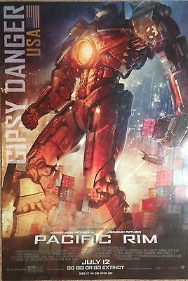 PACIFIC RIM Gipsy Danger 11 x 17 Movie Promo Poster FREE SHIPPING / 20 Available