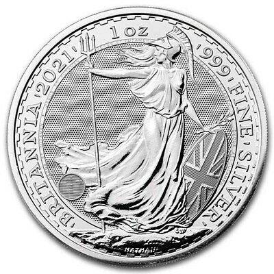 (LOT OF 100) 2019 1 OUNCE SILVER UNITED KINGDOM BRITANNIA COIN S .999 1oz.