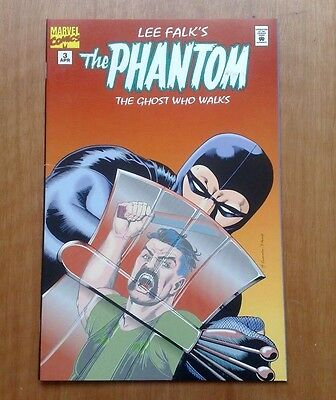 'the Phantom' #3 'the Ghost Who Walks' Lee Falk Marvel Comics April 1995 V/fine