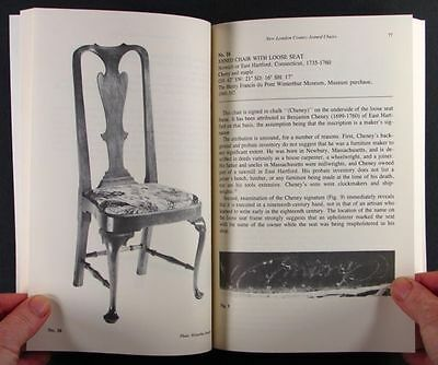 New London Connecticut Joined Chairs - Colonial American Chairs - 1985 Catalog