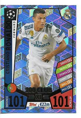 Match Attax Champions League 2017/18 Limited Edition 100 Club Hth Pick Cards