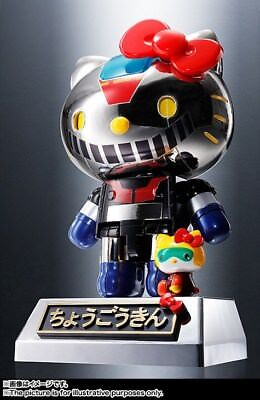 HELLO KITTY MAZINGA Color Ver. SUPER ROBOT CHOGOKIN BANDAI LIMITED *[A ROMA]*