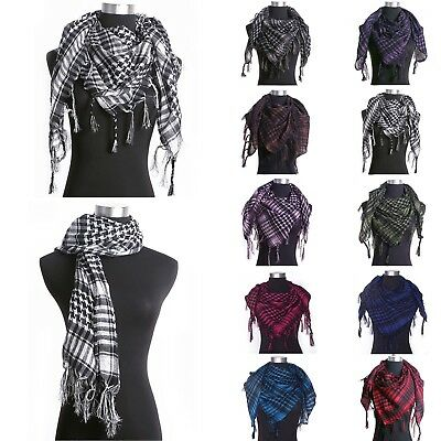 Arab Shemagh Keffiyeh Scarf Shawl Kafiya Fashion Neck Cover Head Wrap