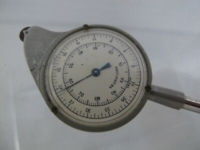 A Lietz CO Curvimeter Opisometer Inches Feet ROLLING MAP SCALE #3656 SWISS MADE