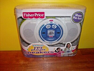 Fisher Price Kid-Tough Fp3 Speakers [Brand New]