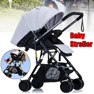 Lightweight Fashion Folding Newborn Carriage Travel Pram Baby Stroller Pushchair