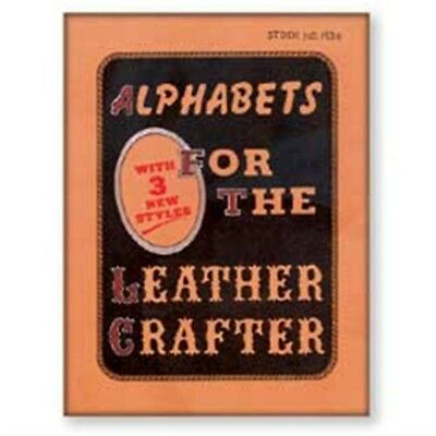 Alphabets For The Leathercrafter - Book How Tandy 6193600