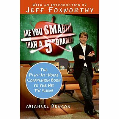 Are You Smarter Than a Fifth Grader?: The Play-At-Home  - Paperback NEW Benson,