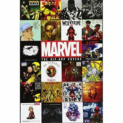 Marvel: The Hip-Hop Covers Vol. 1 - Hardcover NEW Comics, Marvel