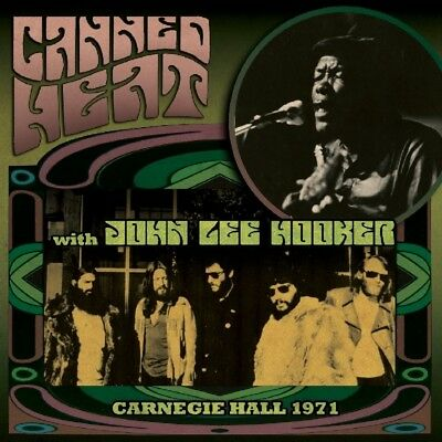 Heat, Canned With Hooker, John Lee - Carnegie Hall 1971 CD Cleopatra NEW