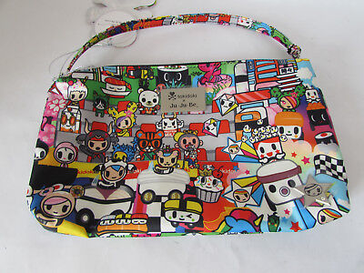 Jujube Ju Ju Be Tokidoki Be Quick wristlet diaper hand bag Sushi Cars A