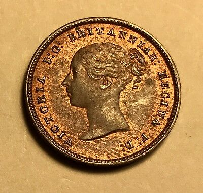 Great Britain - Queen Victoria - 1/2 Farthing - 1844 - Uncirculated - See Images