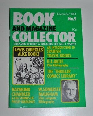 Book Collector Nov 1984 # 9  Lewis Carroll, Raymond Chandler, H.E Bates