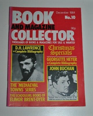 Book Collector Dec 1984 # 10 - D.H Lawrence, Buchan, Georgette Heyer, Brent-Dyer