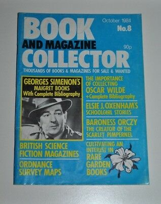 Book Collector Oct 1984 # 8 -Oscar Wilde, Georges Simenon, Ordnance Survey