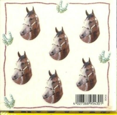 Horse Stickers PAINT Horse set of 12 Paper Mini Stickers