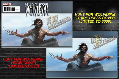 Hunt For Wolverine #1 DELL'OTTO Trade Dress + Virgin Variant SET