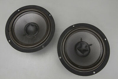 Lot of Two (2) Altec Lansing A0619 4Ω Mid Range / Bass Woofers for Parts Repair