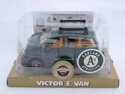 Oakland Athletics A's Chevron Car Victor E. Van Sport Edition Sealed New in Box