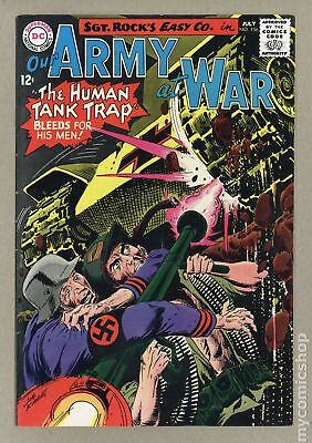 Our Army at War #156 1965 FN 6.0
