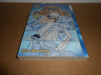 Rave Master Vol 12 By Hiro Mashima TokyoPop Manga Book In English