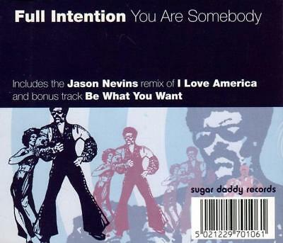 Full Intention - You Are Somebody (4 trk CD / 1998)