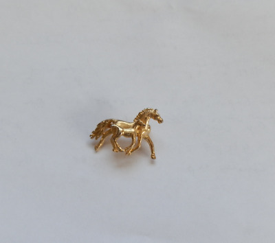 Retro Horse Scatter Pin Mare & Foal