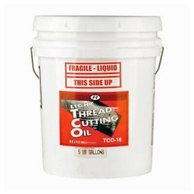 RELTON 05G-TCO16 Light Thread Cutting Oil, 5 Gallons