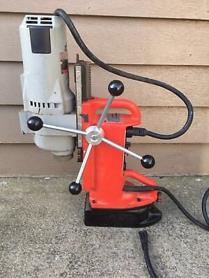 Milwaukee 4203 Electromagnetic Drill Press with 4297-1 Drill Motor 1-1/4HP