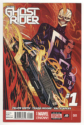 All New Ghost Rider #1 Vf Very Fine 1St Appearance Of Robbie Reyes Marvel Comics