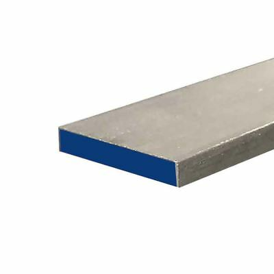 "304 Stainless Steel Flat Bar, 3/8"" x 1-1/4"" x 24"""