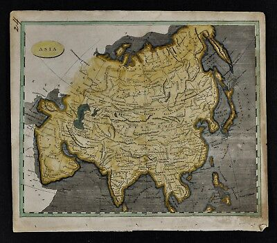 1804 Arrowsmith Map - Asia - China Japan Korea Tibet Siberia Mongolia Arabia