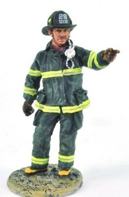 Firefighter Figurine Fireman New York City 2001 Metal Del Prado 1/32 2.75""