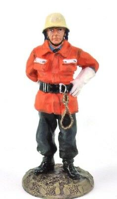 Firefighter Figurine Fireman German 1990 Metal Del Prado 1/32 2.75""