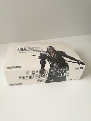 Final Fantasy Trading Card Game - Opus III (3) Booster Box NEW