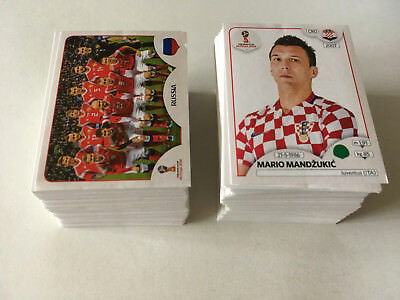 Panini Wc Coupe Du Monde 2018 Russie Lot 25 Images Toute Differente Sticker