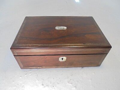 Antique Rosewood   Writing Slope Box , ref 4357
