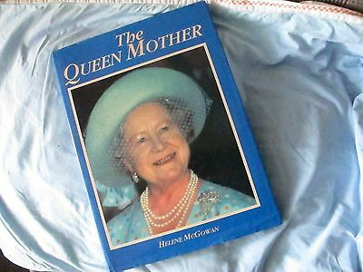 The Queen Mother by Helene McGowan a hardback book to treasure - lovely photos