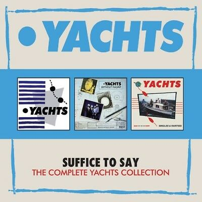 Yachts - Suffice To Say: Complete Yachts Collection [New CD] Boxed Set, UK - Imp
