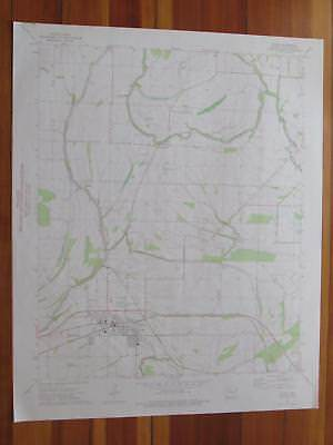 Earle Arkansas 1976 Original Vintage USGS Topo Map