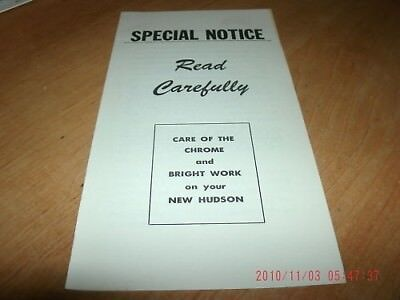 OWNERS MANUAL 1949 1946 1947 1948 Spartan Manor Mansion
