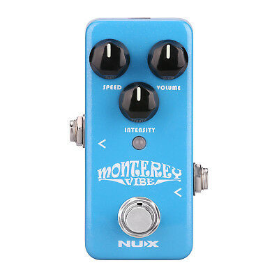 Nux NCH1 Monterey Vibe Guitar Mini Pedal - New
